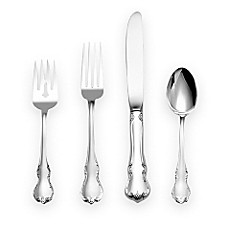 Towle® Silversmiths French Provincial® Sterling Silver Flatware 4-Piece Place Setting