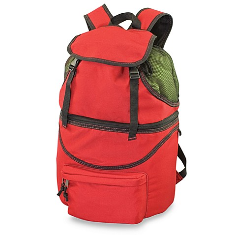 Zuma Insulated Backpack in Red