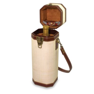 PicnicTime®Bali Single Bottle Wine Tote