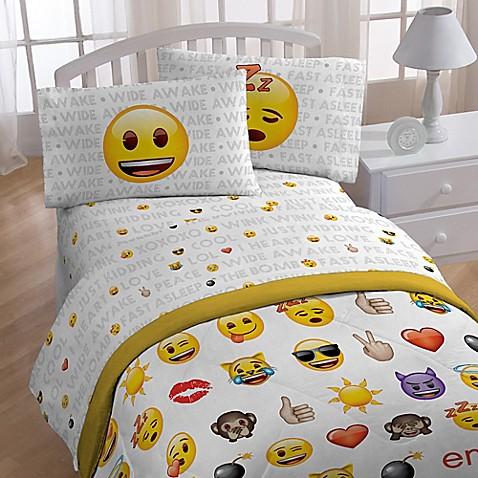 Emoji Sheet Set Bed Bath Amp Beyond