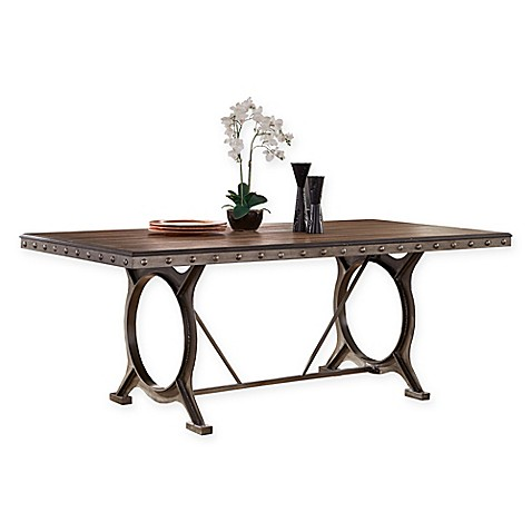 Buy Hillsdale Paddock Rectangle Dining Table In Grey From Bed Bath Beyond