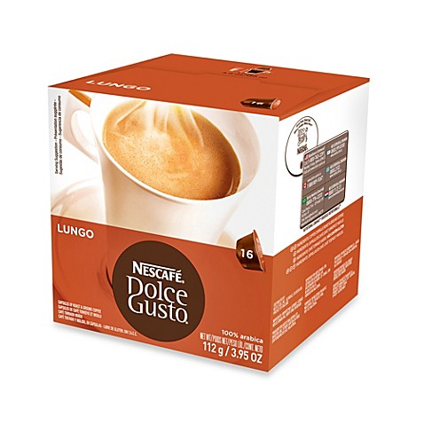 Nescafe 16 count dolce gusto caffe lungo capsules bed bath beyond - Rangement capsules dolce gusto ...