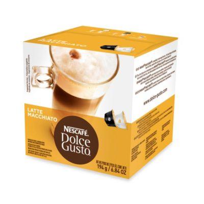 Nescafe® 16-Count Dolce Gusto® Latte Macchiato Capsules