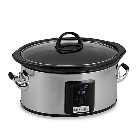 CrockPot® 6.5Quart Slow Cooker with eLume™ Touchscreen