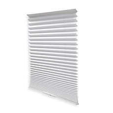 Redi Shade® Easy Touch® Pleated Window Shade in White