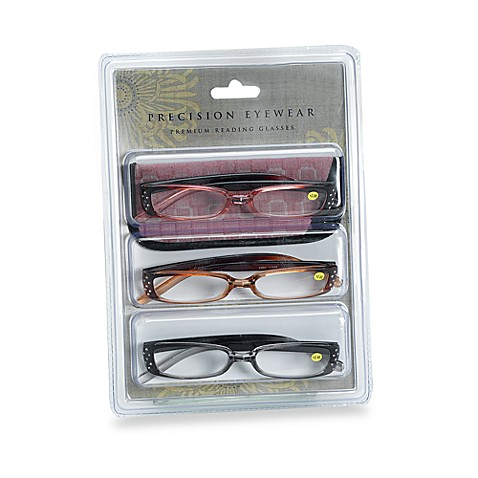 precision eyewear plastic frame premium 2 50 reading