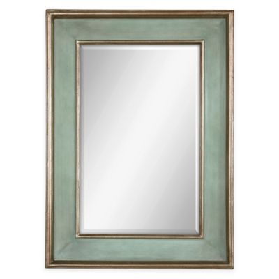 Uttermost Ogden Blue Wall Mirror