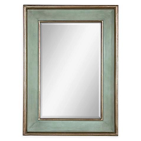 Furniture Stores Ogden Utah Buy Uttermost Ogden Blue Wall Mirror from Bed Bath & Beyond