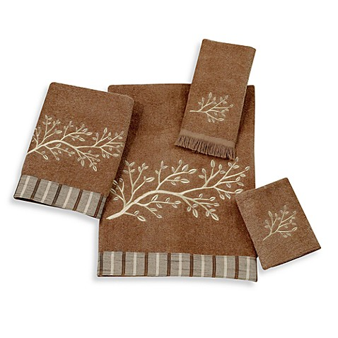Brookwood Earth Towels by Avanti, 100% Cotton