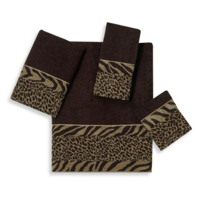 Animal Print Bath Towels