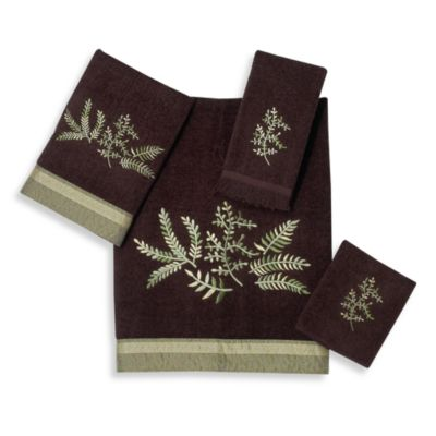 Avanti Greenwood Fingertip Towel in Java
