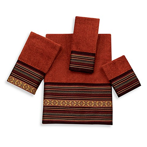 Avanti Fiesta Washcloth in Copper