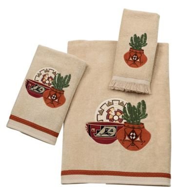 Sun Valley Fingertip Towel