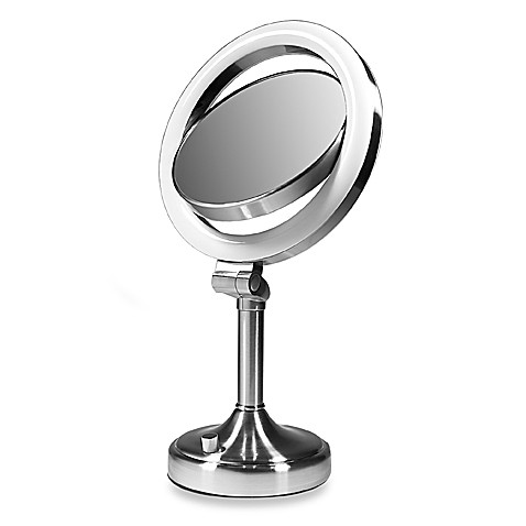 Zadro™ Dimmable Florescent Dual-Sided Mirror