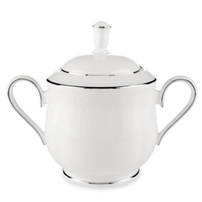 Lenox® Hannah Platinum® Covered Sugar Bowl