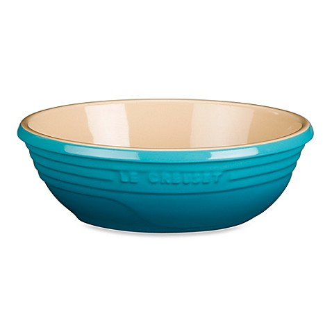 Le Creuset® Stoneware Oval Serving Bowl in Caribbean