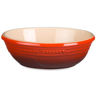 Le Creuset® Stoneware Oval Serving Bowl in Cherry