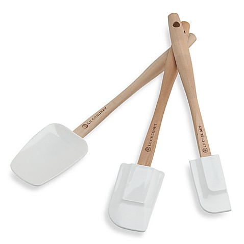 Le Creuset® Medium White Spatula
