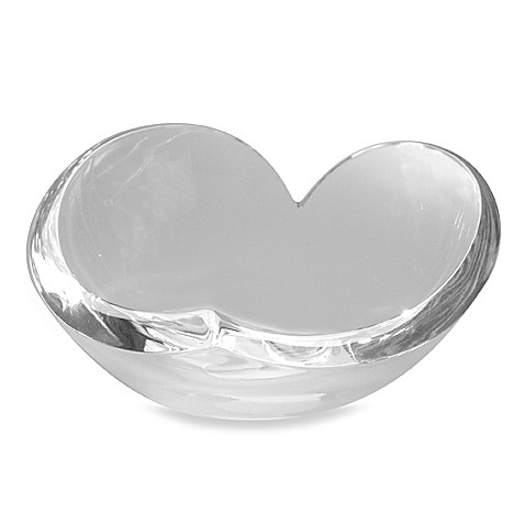 Nambe Decorative Crystal Heart Bowl