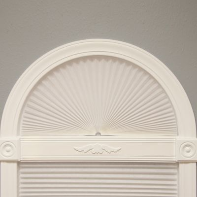 Redi Arch Pleated Fabric Window Shade