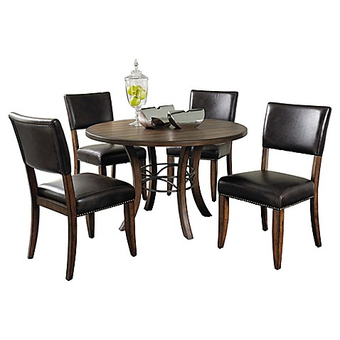 Hillsdale Cameron Parson Dining Set And Side Chair Collection Bed Bath Amp