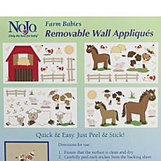 Farm Babies Wall Decals by Nojo®