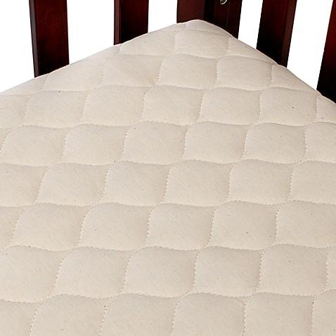 Tl Care 174 Organic Cotton Crib Mattress Pad Cover Www