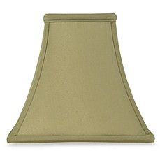 Mix and Match Square Bell-Shaped Sage Lamp Shade