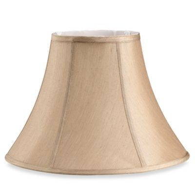 Mix and Match Bell-Shaped Beige Medium Lamp Shade