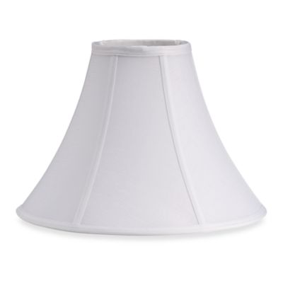 Dolan Designs Mix and Match Bell-Shaped White Medium Lamp Shade