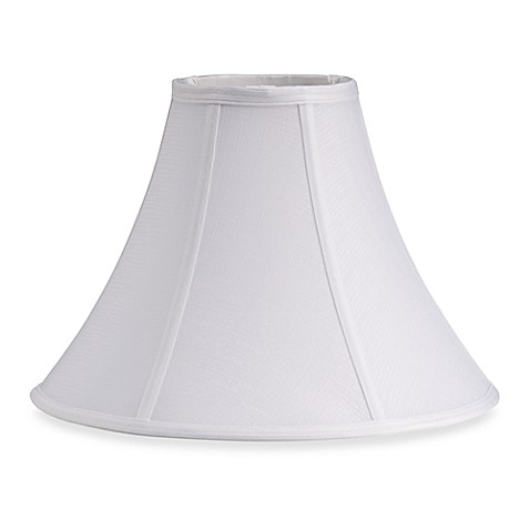 Mix & Match Medium 14.5-Inch Bell Lamp Shade in White