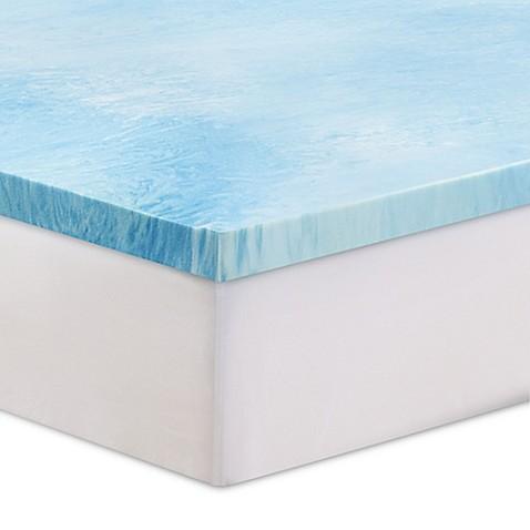 Serta 3 Inch Gel Swirl Memory Foam Mattress Topper
