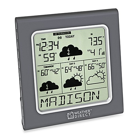 La Crosse Technology Weather Direct® Weather Forecaster