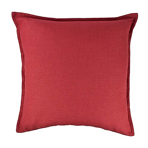 Buy Sherry Kline Manhattan Square Throw Pillow in Crimson Red from Bed Bath & Beyond