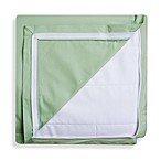 Clouds and Stars QuickZip® Zipper Base and Zipper Sheet Set in Green