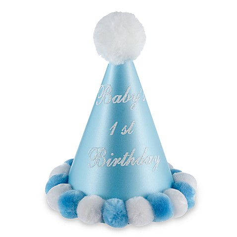 Baby's 1st Birthday Party Hat for Boys