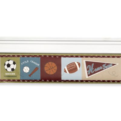 CoCaLo Baby® Sports Fan Wall Border