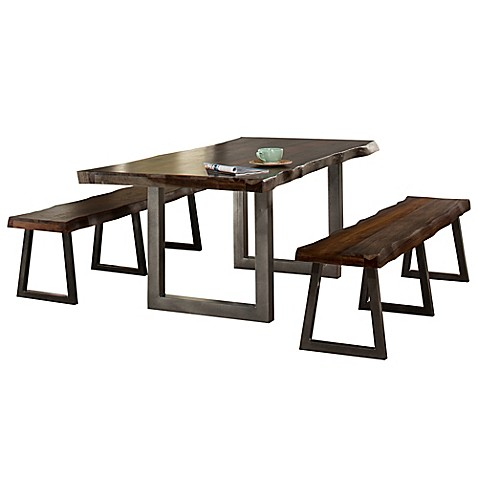 Hillsdale Emerson 3 Piece Rectangle Dining Set