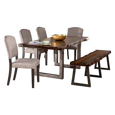 Buy Hillsdale Emerson 6 Piece Rectangle Dining Set From Bed Bath Beyond