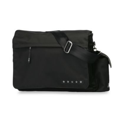 Black Silver JJB Messenger™ Diaper Bag by Ju-Ju-Be®