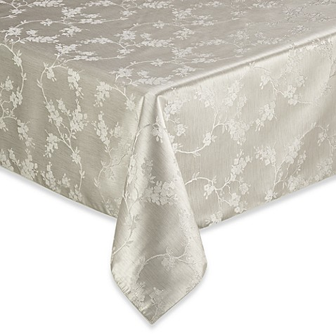 Regency 70-Inch Square Tablecloth in White