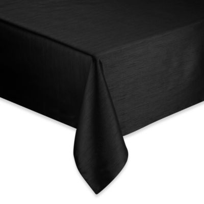Silk Road 60-Inch x 84-Inch Tablecloth in Black