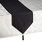 Silk Road 90-Inch Table Runner in Black