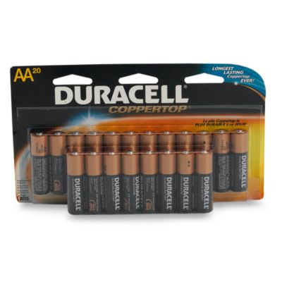 Duracell® 20 AA Battery Pack