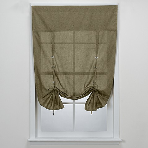 Aspen Tie-Up Shade in Khaki