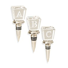 Monogram Wine Stoppers