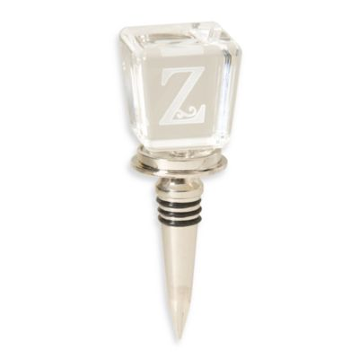 "Monogram Letter ""Z"" Wine Stopper"