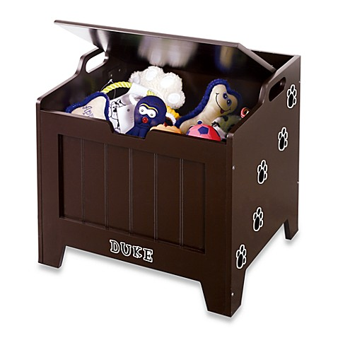 Pet Toy Storage Chest - Espresso