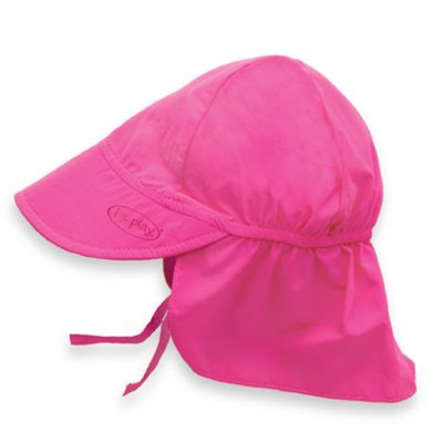 i play.® Toddler Sun Flap Hat in Hot Pink