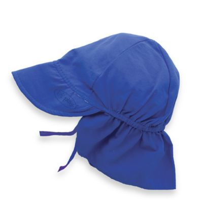 i play.® Infant Sun Flap Hat in Royal Blue